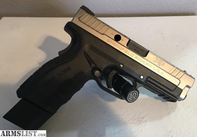 Armslist For Saletrade Springfield Xd Mod 2 40 9mm Bitone With