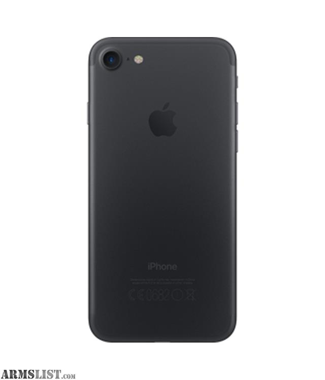 armslist for sale trade iphone 7 128gb t mobile unlovked mat black. Black Bedroom Furniture Sets. Home Design Ideas