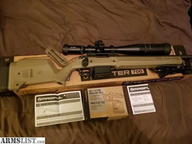 ARMSLIST - For Sale: Magpul hunter 700 short action stock
