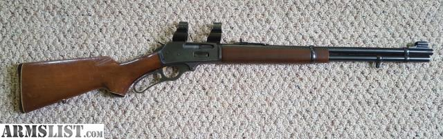 ARMSLIST - For Sale: Marlin 336 30-30 JM gold trigger, scope