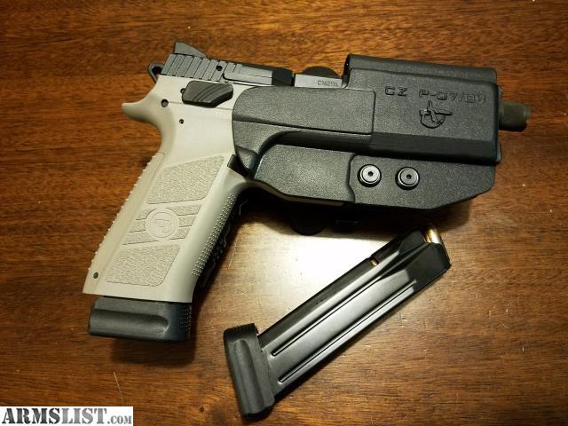 ARMSLIST - For Sale/Trade: CZ P-09 Urban Grey Suppressor