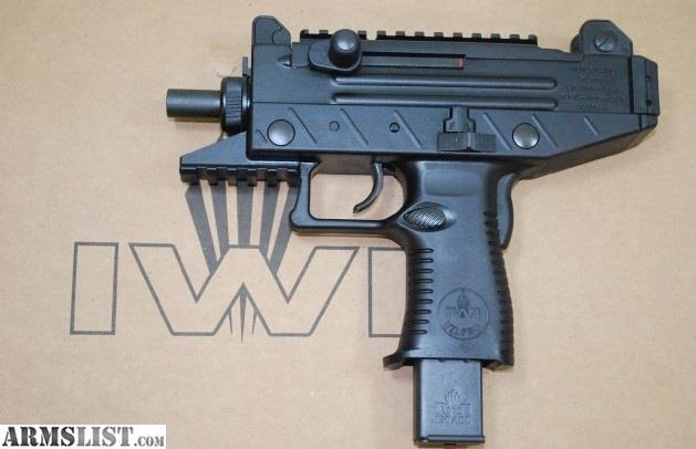ARMSLIST - For Sale: IWI UZI PRO 9mm Micro Semi auto Pistol