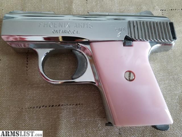 ARMSLIST - For Sale: Phoenix Arms Raven  25 Pink Lady