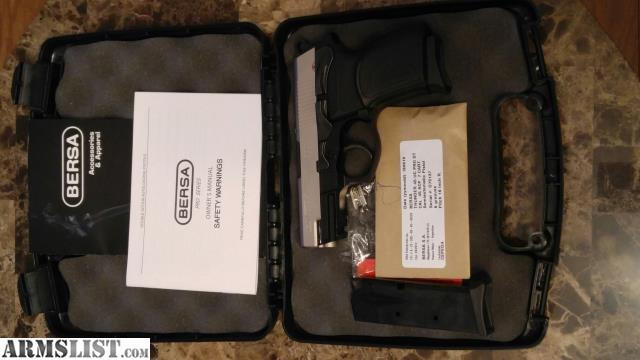 ARMSLIST - For Sale: BERSA Thunder 45 Ultra Compact DT PRO