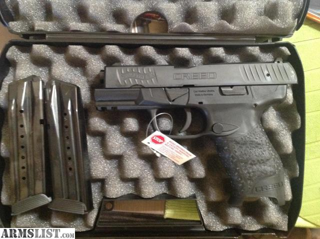 ARMSLIST - For Sale: Walther Creed