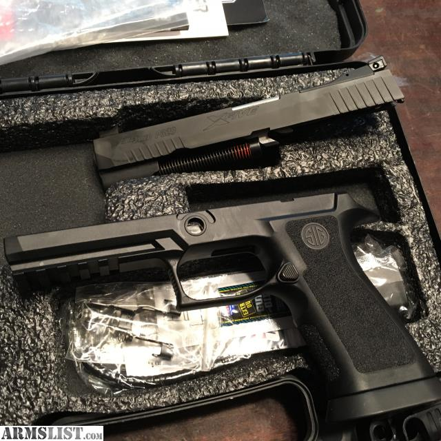 ARMSLIST - For Sale: Sig p320 x5 slide and grip module