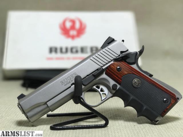 ARMSLIST - For Sale: Ruger SR1911  45 w/Pachmayr & Orig Grips