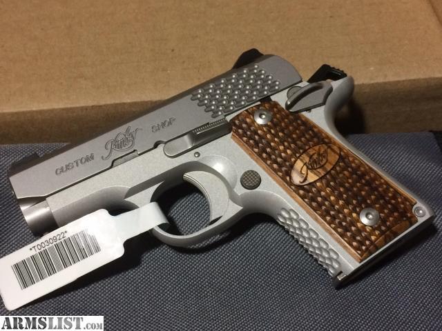 Raptor Pistol: Kimber 1911 Raptor Stainless Ultra Ii 9mm
