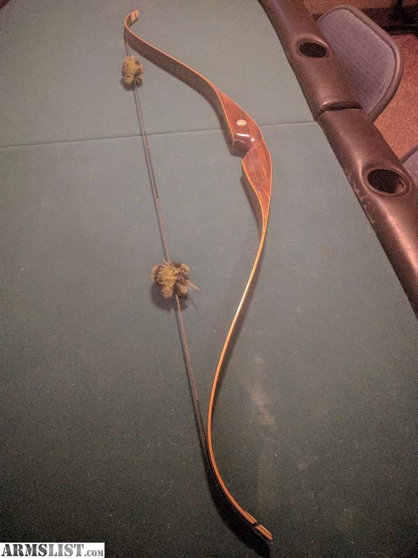 ARMSLIST - For Sale: 1969 Fred Bear Grizzly recurve