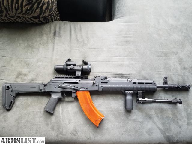 ARMSLIST - For Sale/Trade: Palmetto AK47 with upgrades