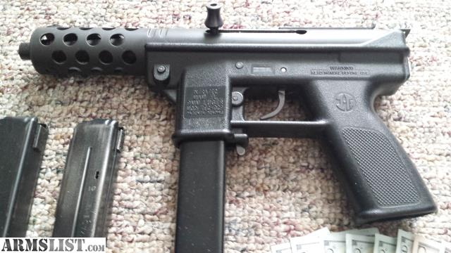 ARMSLIST - For Sale: PreBan open bolt tec9