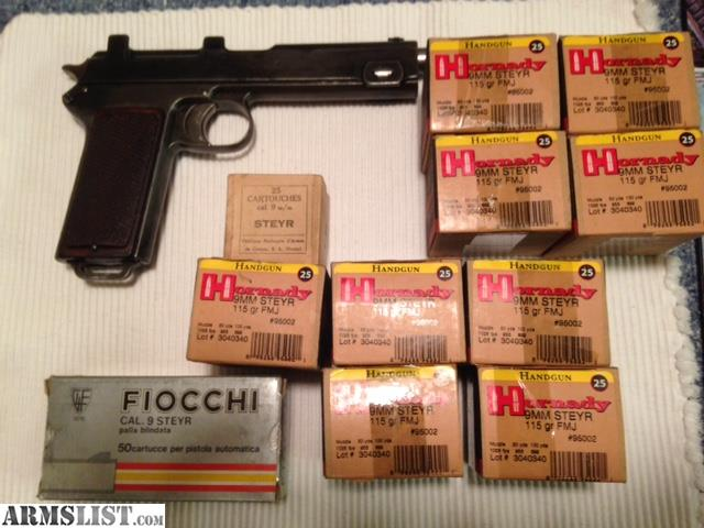 Armslist For Sale Steyr 1918 In 9mm Steyr With Ammo