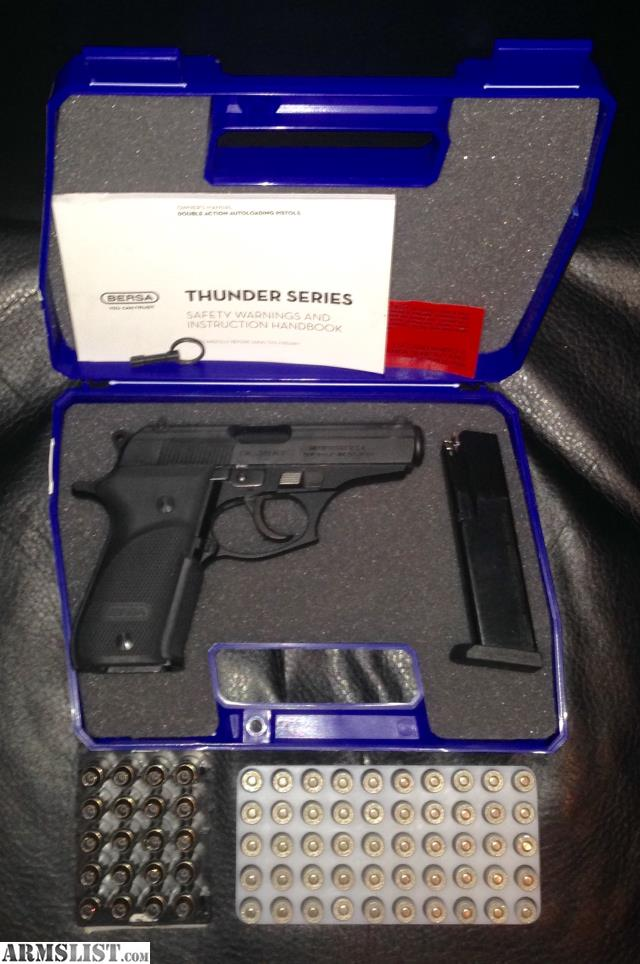 ARMSLIST - For Sale: Bersa Thunder 380 plus 15+1