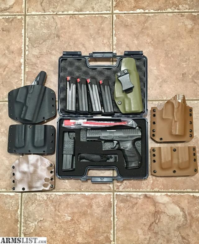 ARMSLIST - For Sale: Walther PPQ M2 9mm with extras