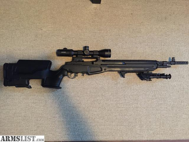 Armslist For Saletrade Springfield M1a Scout In Jae Chassis
