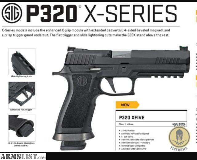 Sig P320 X5 21 Round Magazine