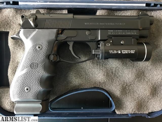 ARMSLIST - For Sale: Beretta M9A1 9mm w/accessories (like-new)