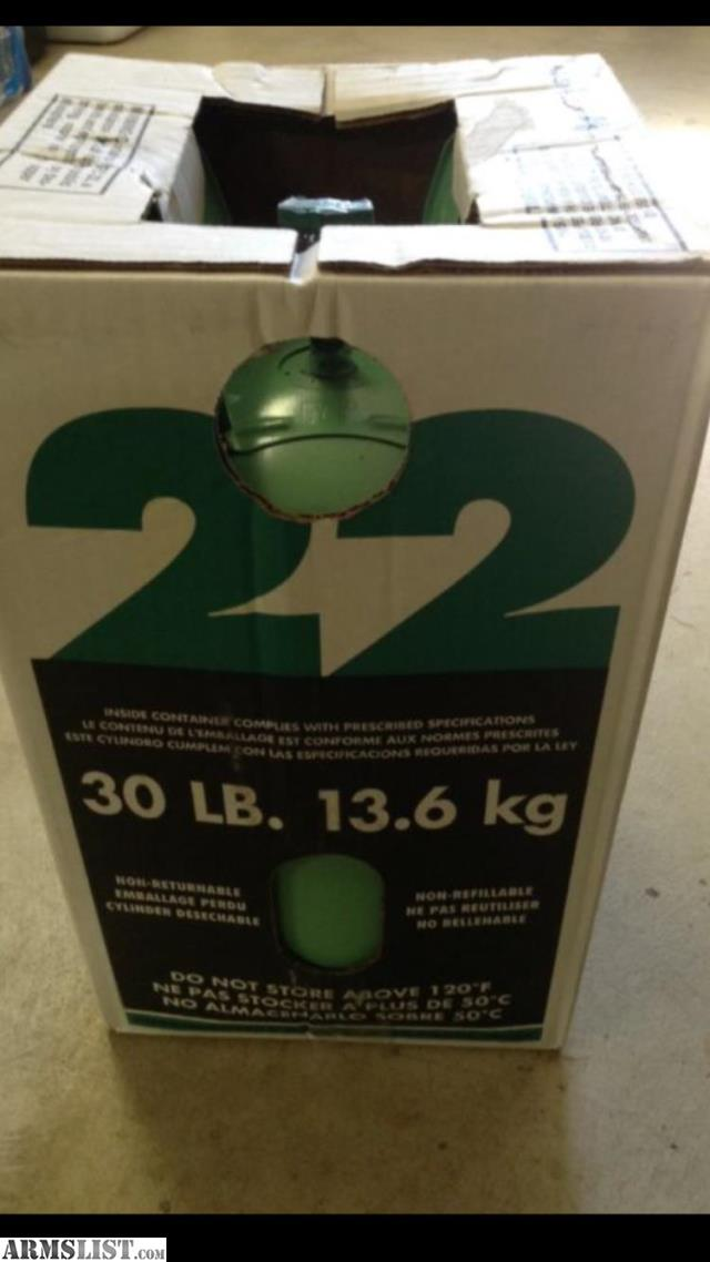 ARMSLIST - For Sale/Trade: New sealed 30lb R22 freon