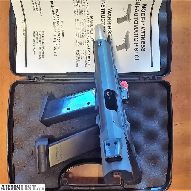 ARMSLIST - For Sale: Tangfolio EAA Witness 9MM Polymer model 999244