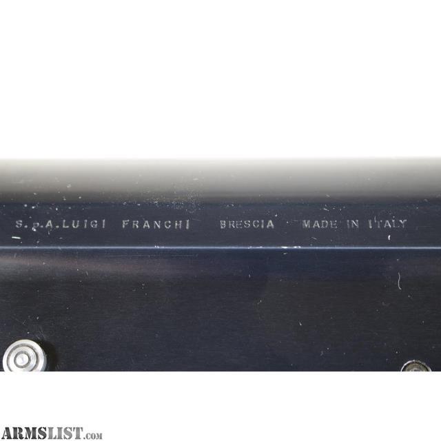 For Sale: Luigi Franchi 48 AL 12GA Semi-Auto