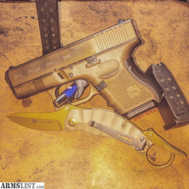 Armslist For Sale Glock 26 Gen 4 Custom Cerakote Burnt Bronze