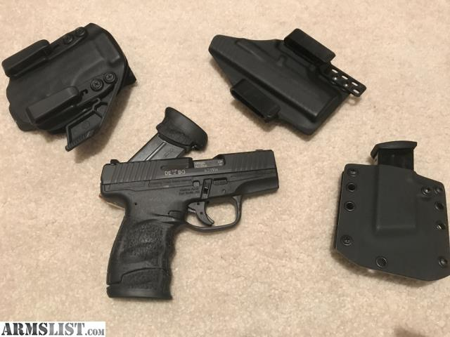 ARMSLIST - For Sale: Walther PPS M2 LE + Holsters