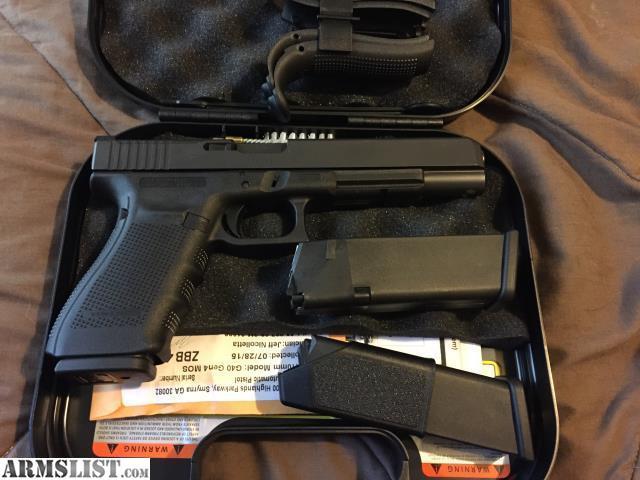 Armslist For Sale Price Drop Gen 4 Glock 40 10mm Long Slide Mos
