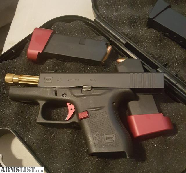 Armslist For Sale Glock 43 W Hyve Trigger Amp Match Barrel