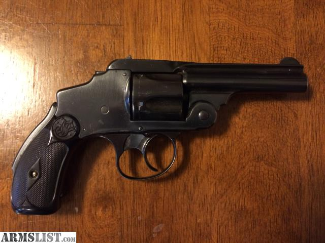38 S W Safety Hammerless 1 Model: SMITH & WESSON LEMON