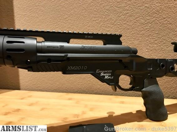 ARMSLIST - For Sale: Remington Defense XM2010 - Enhanced ...