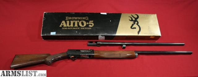 For Sale: Grade I Japanese Browning Auto-5