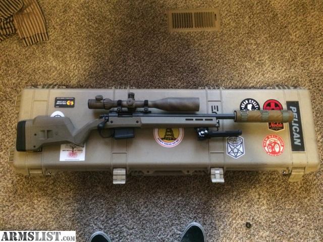 ARMSLIST - For Sale: Remington 700 SPS Tactical AAC-SD 16 5