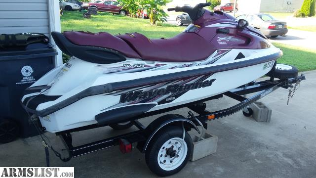 Armslist for sale 1998 yamaha xl760 waverunner and 2004 for Yamaha wave runner price