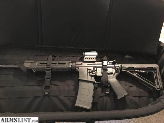 For Sale: SIG M400 Enhanced W/Magpul Furniture, Romeo 4 Red Dot, U0026 SIG MCX  Rifle Bag  All Brand New In Case!