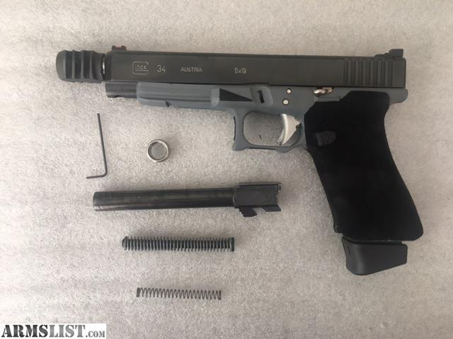 Armslist For Sale Glock 34 Competition Race Gun Highly