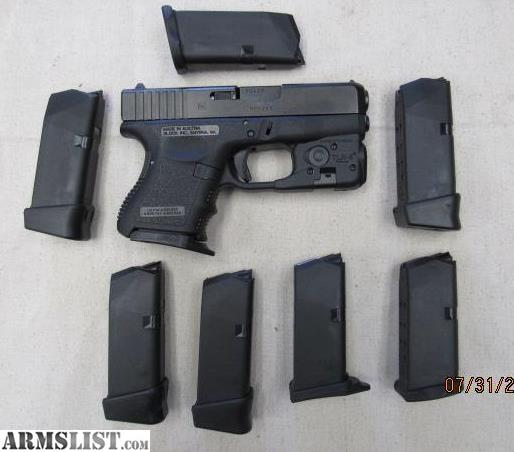 ARMSLIST - For Sale: GLOCK 26 GEN 3 9MM