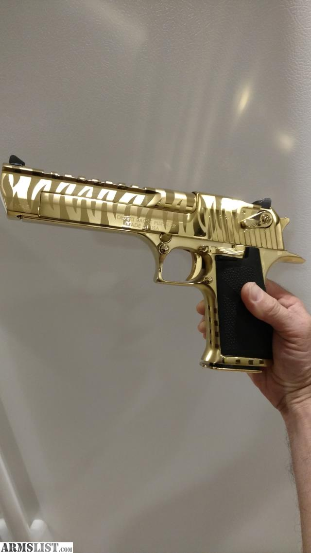 Armslist For Sale Desert Eagle Gold Tiger 50cal