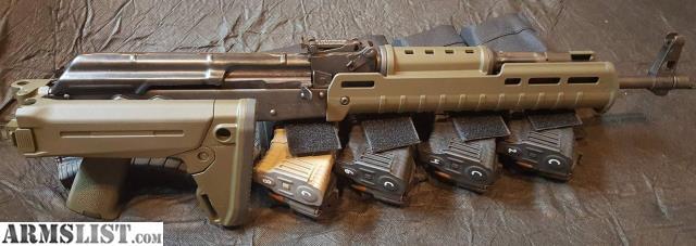 ARMSLIST - For Sale: GP WASR-10/63 AK-47 w/ Zhukov furniture