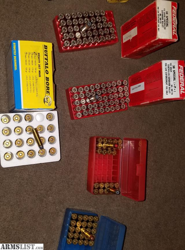 ARMSLIST - For Sale:  357 magnum and  38 special ammo