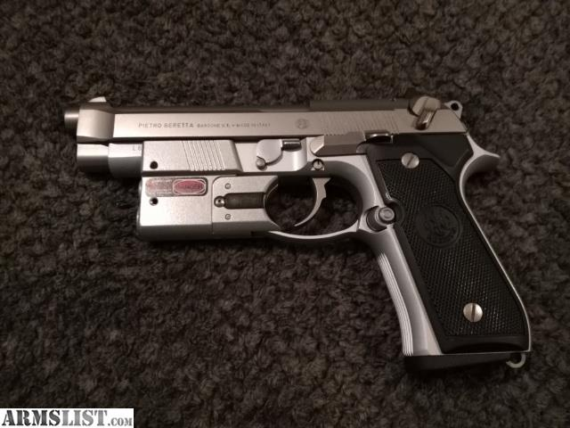 ARMSLIST - For Sale: Beretta 92FS INOX CRDC On Duty II Laser