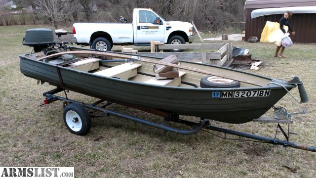 Armslist for sale trade 14 39 fishing boat for Fishing boats for sale mn
