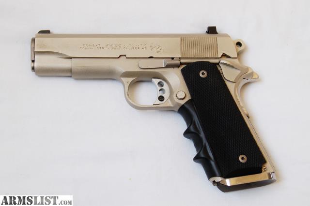 ARMSLIST - For Sale: Colt 1911 Combat Commander .45 ...