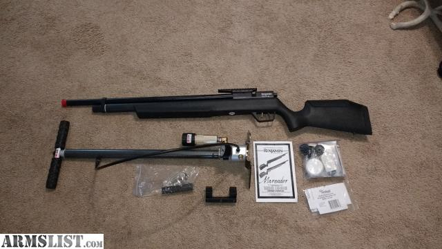 ARMSLIST - For Sale: Benjamin Marauder  22 and Hill Air Pump