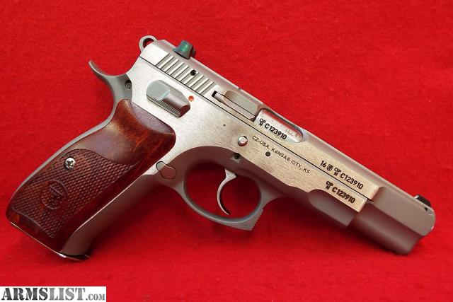 Armslist for sale: #6292 cz 75 b stainless limited coco bolo 91125