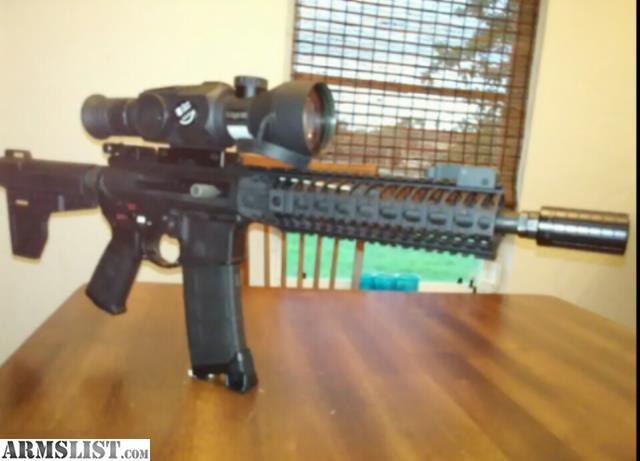 ARMSLIST - For Sale: 300 BLACKOUT SPIKES CUSTOM SIDE CHARGE