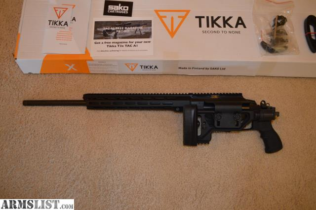 ARMSLIST - For Sale: Tikka T3X Tac A1 6 5 Creedmoor