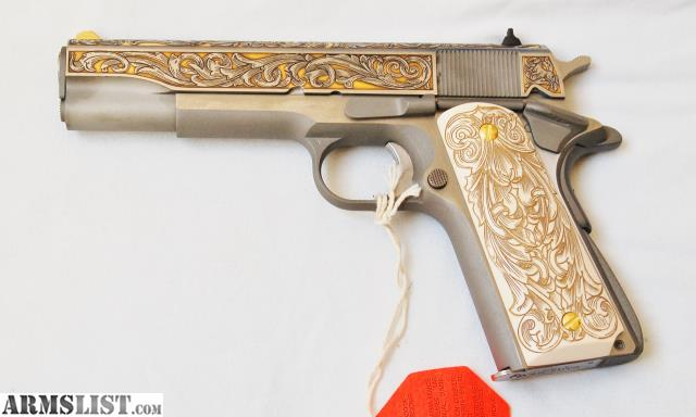 ARMSLIST - For Sale: Colt 1911 David Riccardo/TALO 1 of 400 Limited
