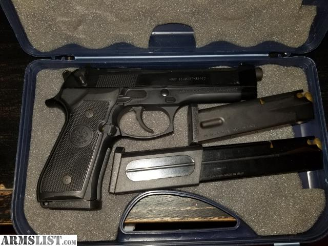 ARMSLIST - For Sale: M9 w/ extended magazine