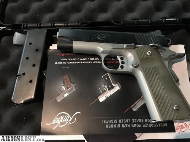 ARMSLIST - For Sale: Very nice Kimber Pro Carry II w VZ grips