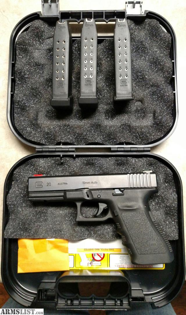 ARMSLIST - For Sale: Glock 20 10mm with 40 S&W conversion barrel